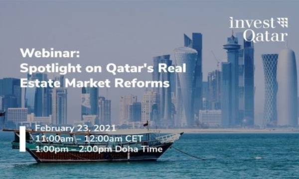 Webinar Spotlight on Qatars Real Estate Market Reforms