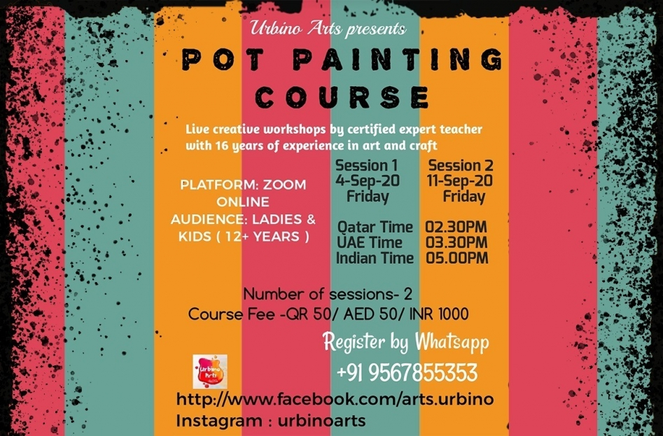 Pot Painting Course from Urbino Arts