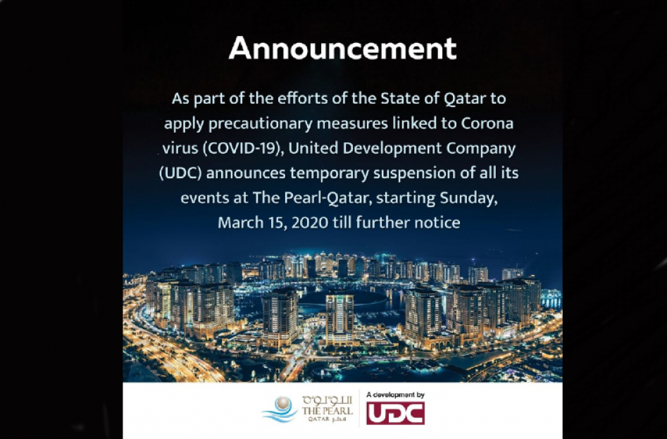 Events at The Pearl Qatar [CANCELLED]
