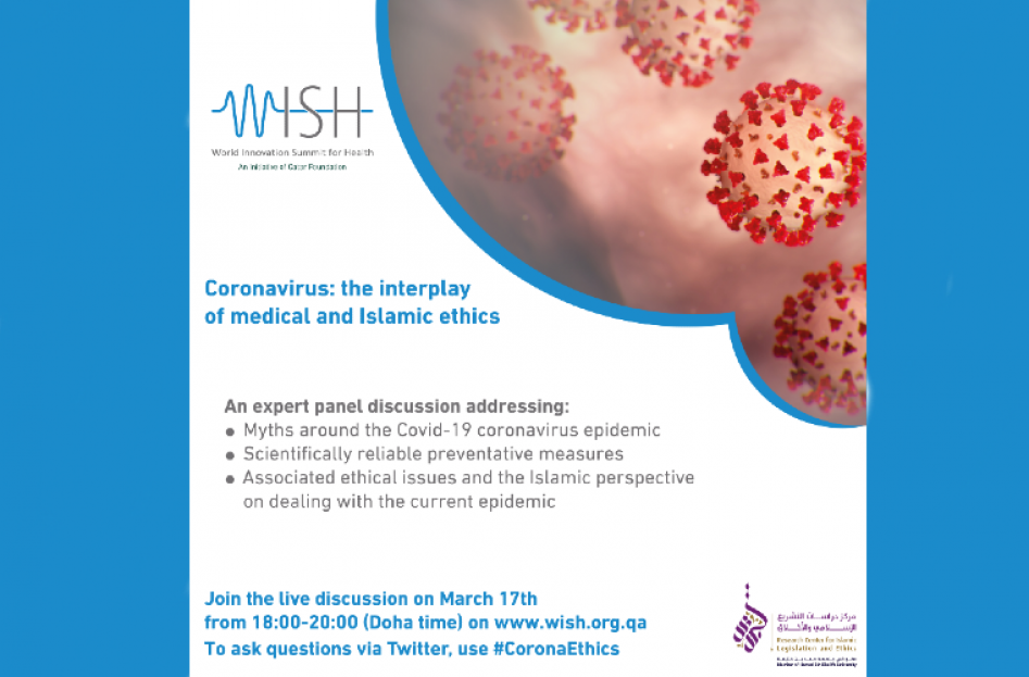 Webinar on Coronavirus by Qatar Foundation